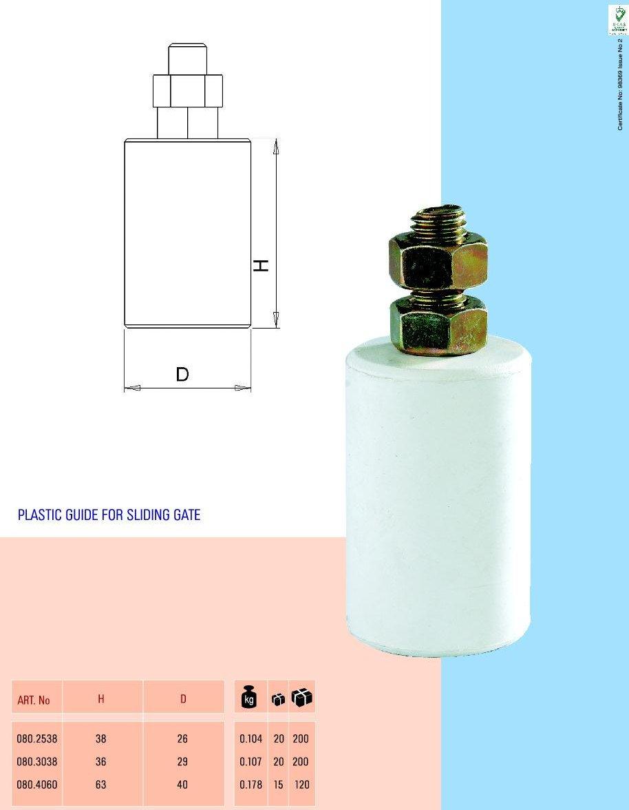 Role plastic pentru ghidaj poarta glisanta
