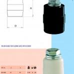 Role plastic cu surub pentru ghidaj poarta glisanta