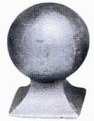 Cap sferic turnat Nr 175