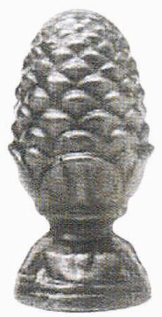 Ornament turnat ananas Nr 182
