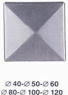Cap piramidal fier